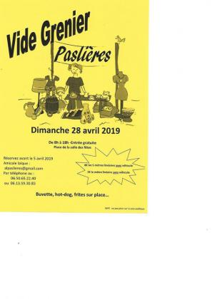Vide-greniers de Paslières