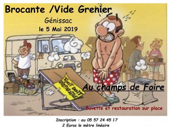 Brocante Vide-greniers de Génissac