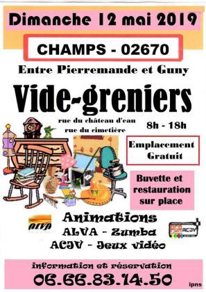 Vide-greniers de Champs