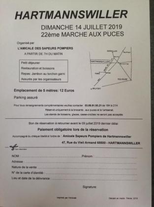 Marché aux puces - Hartmannswiller