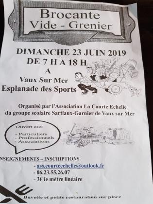 Brocante Vide-greniers de Vaux-sur-Mer