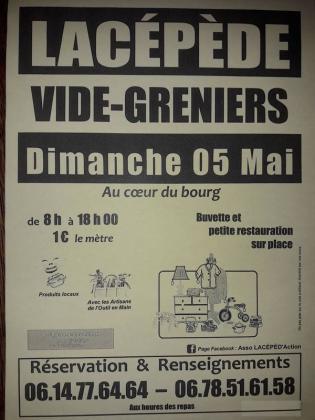 Vide-greniers de Lacépède