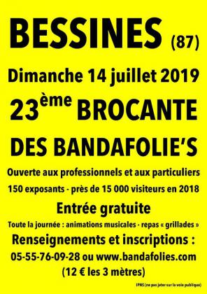 Brocante Vide-greniers de Bessines-sur-Gartempe