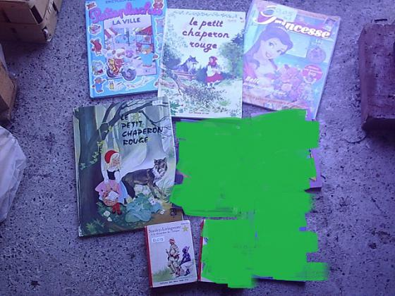 Livres et Romans Enfants de 0,05 € à 0,50 € pièce