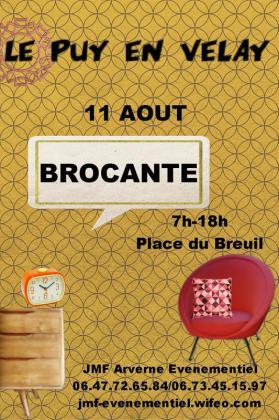 Brocante - Le Puy-en-Velay