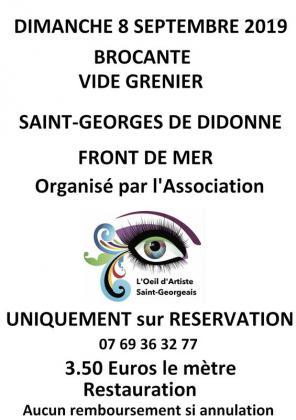 Brocante Vide-greniers de Saint-Georges-de-Didonne