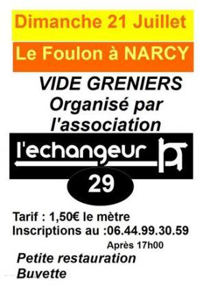 Vide-greniers de Narcy