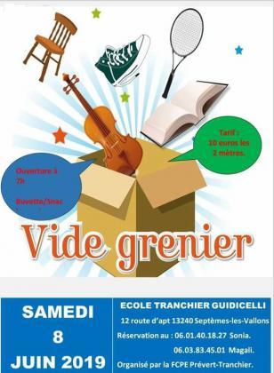 Vide-greniers de Septèmes-les-Vallons