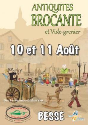 Brocante Vide-greniers de Besse-et-Saint-Anastaise