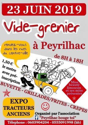 Vide-greniers de Peyrilhac
