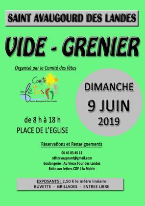 Vide-greniers de Saint-Avaugourd-des-Landes