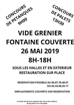Vide-greniers de Fontaine-Couverte