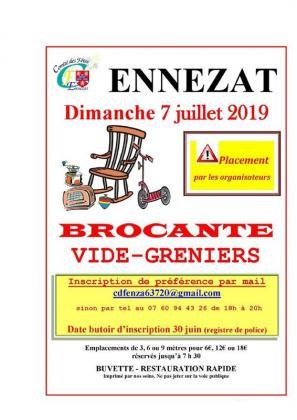 Brocante Vide-greniers - Ennezat