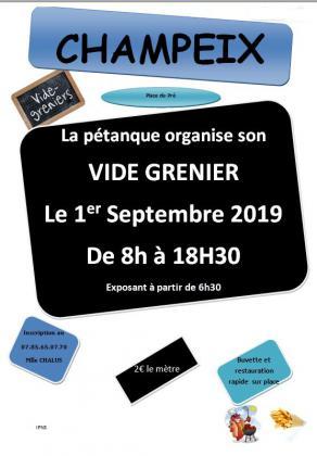 Vide-greniers de Champeix
