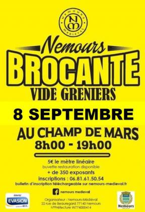 Brocante Vide-greniers de Nemours