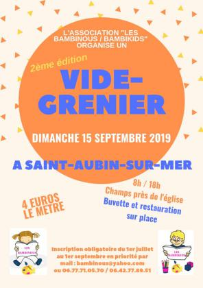 Vide-greniers de Saint-Aubin-sur-Mer