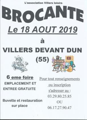 Vide-greniers de Villers-devant-Dun