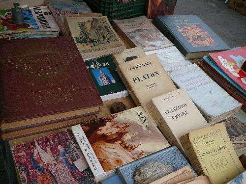 Vide grenier et salon du livre de Génis