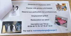 Vide-greniers de Potangis