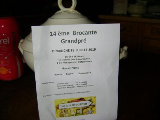 Brocante Vide-greniers de Grandpré