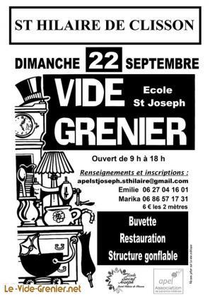 Vide-greniers de Saint-Hilaire-de-Clisson