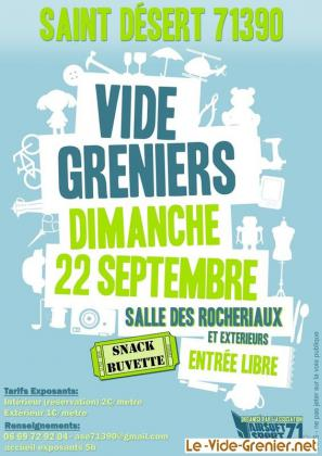 Vide-greniers de Saint-Désert