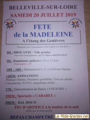 Vide-greniers de Belleville-sur-Loire