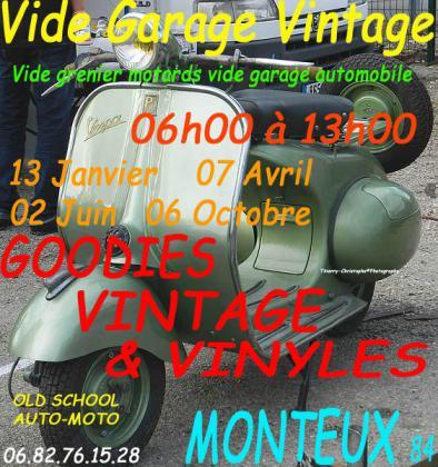 Vide Garage Mécanique Vintage de Monteux