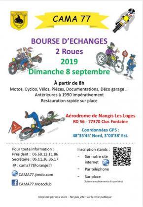 Bourse moto ancienne de Clos-Fontaine
