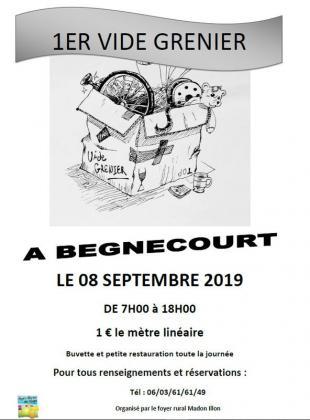 Vide-greniers de Begnécourt