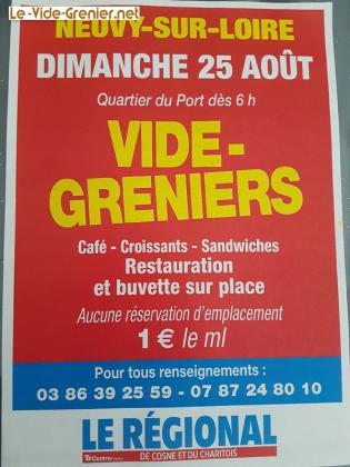 Vide-greniers de Neuvy-sur-Loire