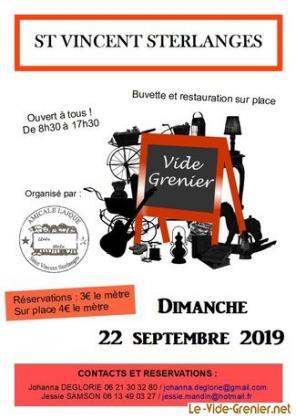 Vide-greniers de Saint-Vincent-Sterlanges