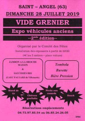Vide-greniers de Saint-Angel