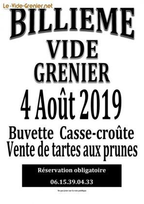 Vide-greniers de Billième