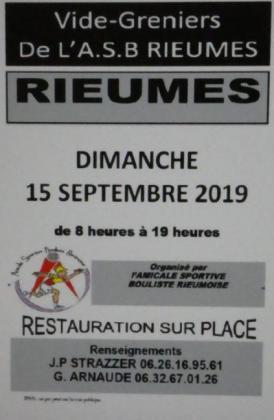 Vide-greniers de Rieumes