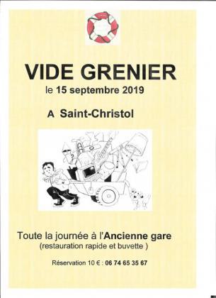 Vide-greniers de Saint-Christol