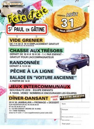 Vide-greniers de Saint-Paul-en-Gâtine