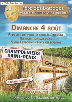 Vide-greniers de Champdeniers-Saint-Denis