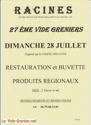 Vide-greniers de Racines