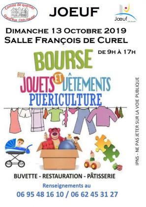 Bourse aux vêtements, jouets, puériculture de Jœuf