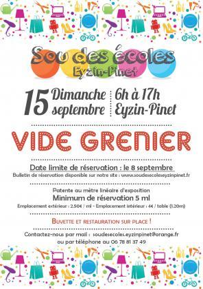 Vide-grenier du Sou des Ecoles