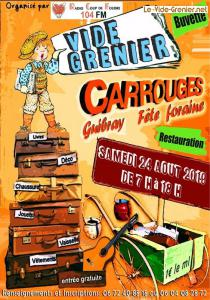 Brocante Vide-greniers de Carrouges