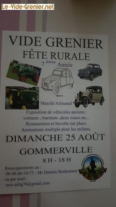 Vide-greniers de Gommerville
