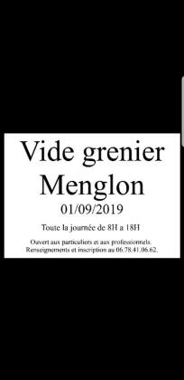Vide-greniers de Menglon