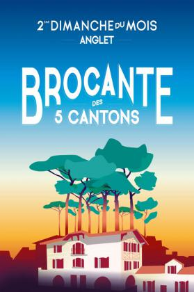 Brocante mensuelle des 5 Cantons - Anglet