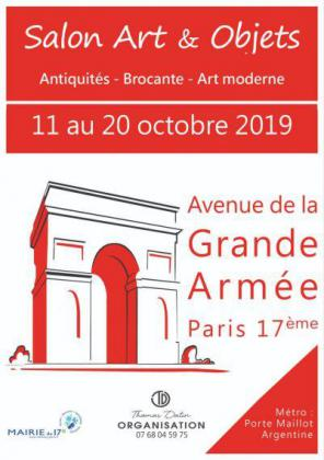 Salon Art et Objets de la Grande Armée de Paris 17
