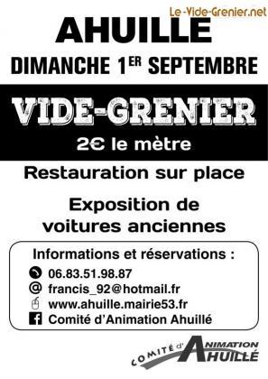 Vide-greniers - Ahuillé