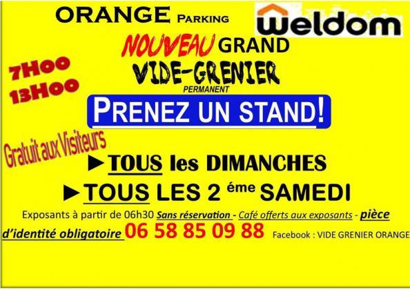 Vide-Grenier - Orange