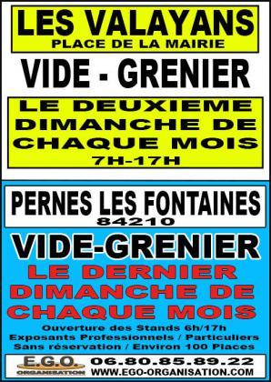 Brocante Vide-greniers de Pernes-les-Fontaines
