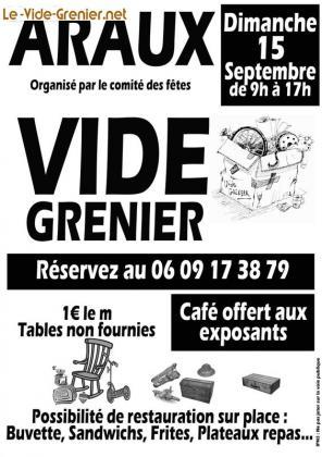 Vide-greniers - Araux